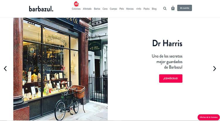 mejores tiendas belleza hombre cosmetica masculina perfumeria online barbazul