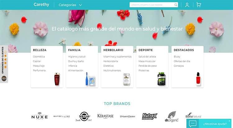 mejores tiendas belleza hombre cosmetica masculina perfumeria online carethy