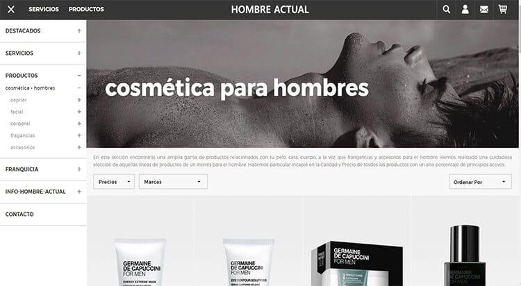 mejores tiendas belleza hombre cosmetica masculina perfumeria online hombre actual