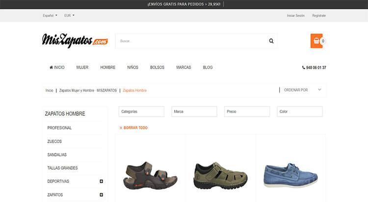 mejores tiendas comprar moda belleza calzado hombre mis zapatos