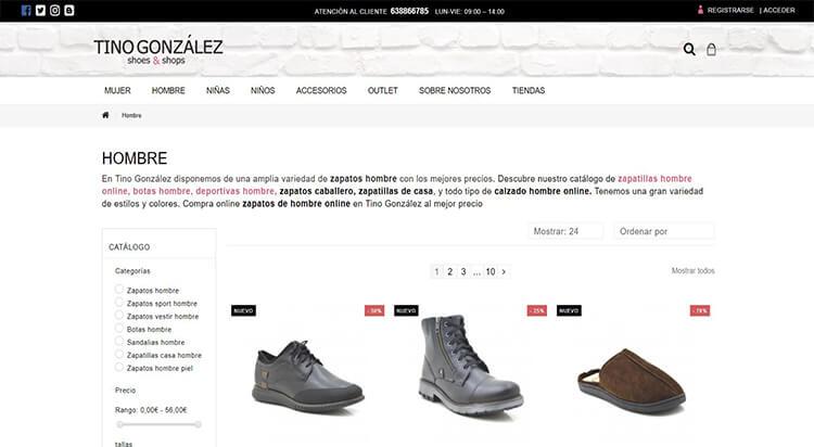 mejores tiendas comprar moda belleza calzado hombre tino gonzalez shoes shops