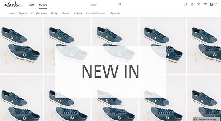 mejores tiendas comprar moda belleza calzado hombre ulanka