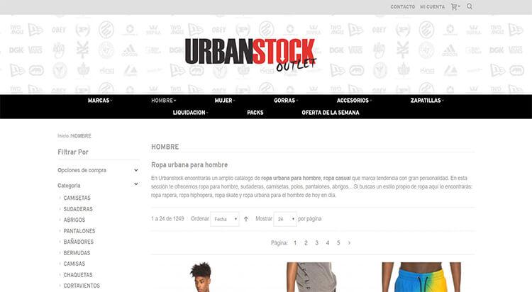 mejores tiendas comprar moda belleza hombre urbanstock