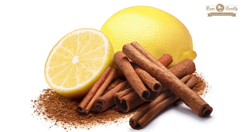 remedios caseros y productos naturales para potenciar el crecimiento de la barba limon y canela