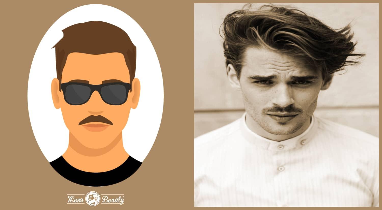 tipos de bigotes estilos cortes chevron
