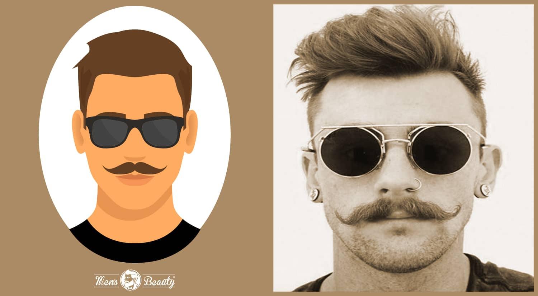 tipos de bigotes estilos cortes handlebar