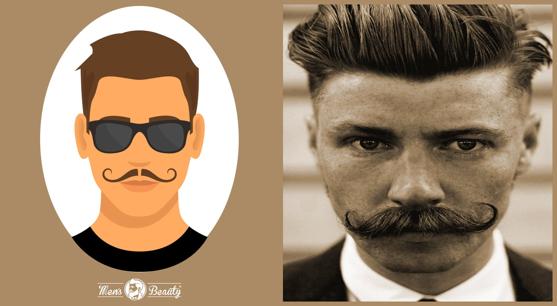 tipos de bigotes estilos cortes villain