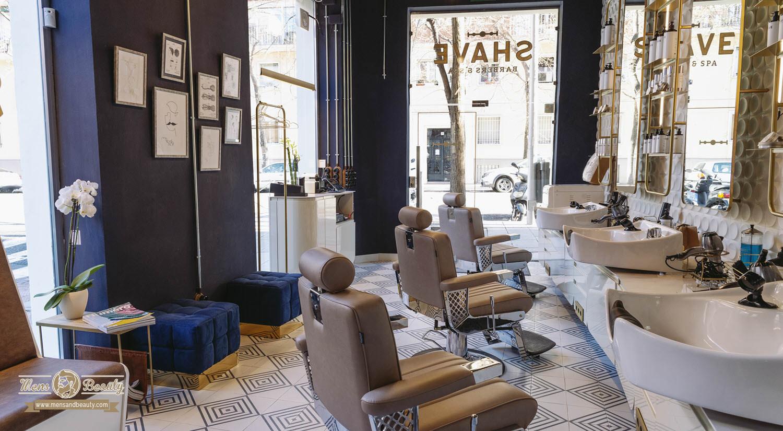 barberia peluqueria hombre madrid shave barbers spa ferraz 79 madrid