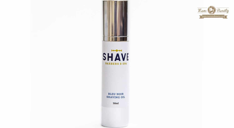 mejores productos belleza para hombre shave barbers spa the shave club aceite afeitar bleu noir shavin oil