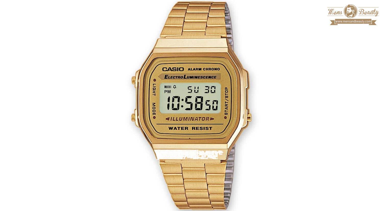 mejores relojes digitales hombre calidad baratos casio a168wg 9wdf