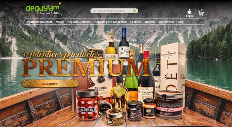 mejores tiendas gourmet comprar productos delicatessen premium degustam