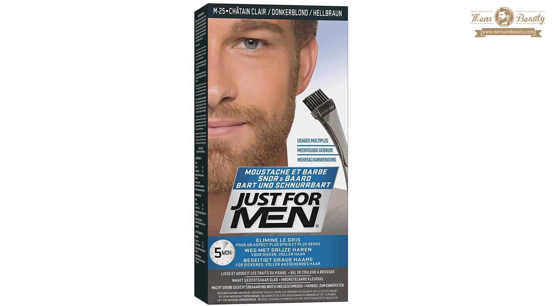 mejores tintes pelo hombre canas barba bigote justformen
