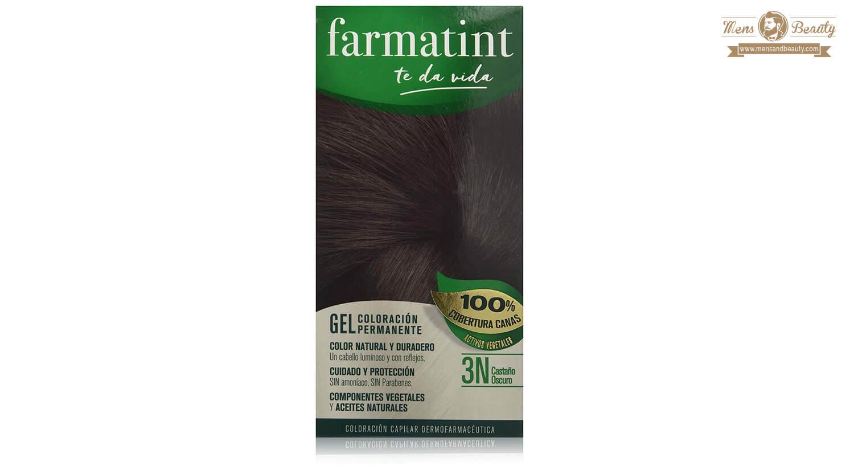 mejores tintes pelo hombre gel coloracion permanente farmatint