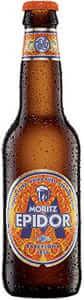 mejores cervezas industriales espana moritz epidor