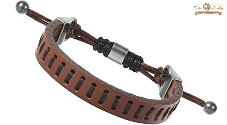 mejores pulseras para hombre cuerda moasee pulsera trenzada