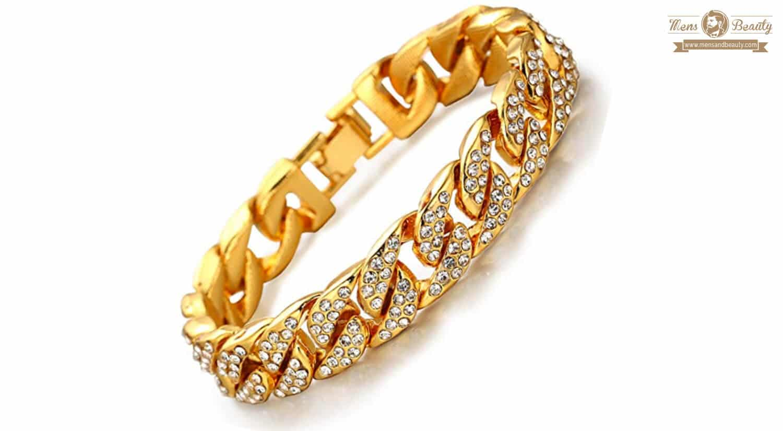 mejores pulseras para hombre diamante hulakakah bling 18k