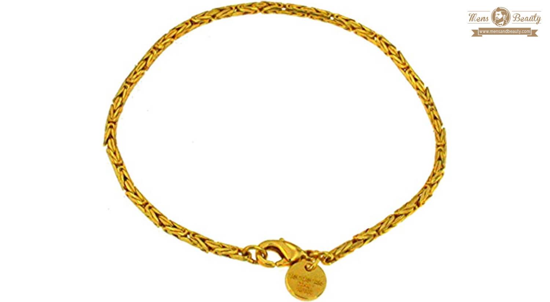 mejores pulseras para hombre oro tendenze italy bizantino