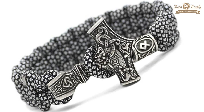 mejores pulseras para hombre plata thorarmband