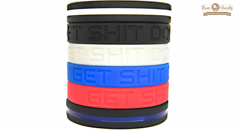 mejores pulseras para hombre silicona solza get shit done