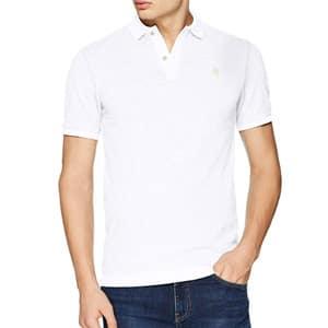mejores regalos para hombres moda ropa polo manga corta blanco gstar