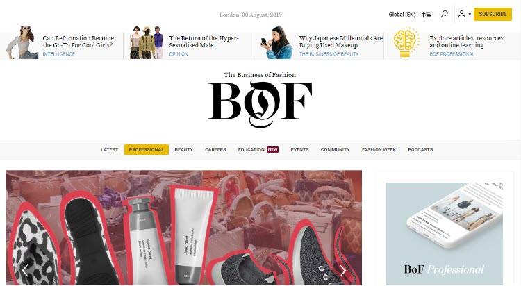 mejores blogs moda belleza masculina tendencias hombre business of fashion imran amed