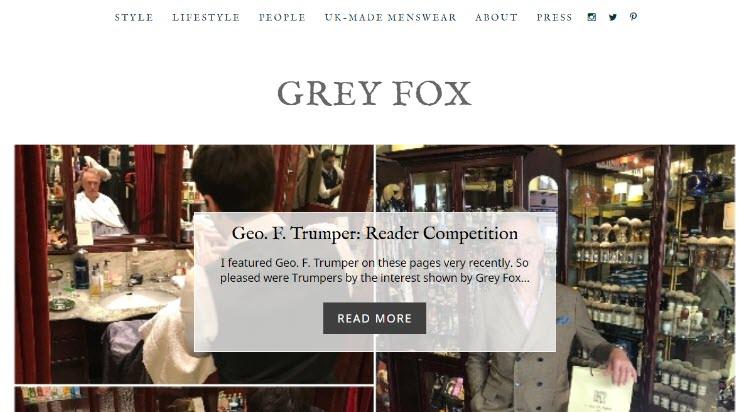 mejores blogs moda belleza masculina tendencias hombre grey fox david evans