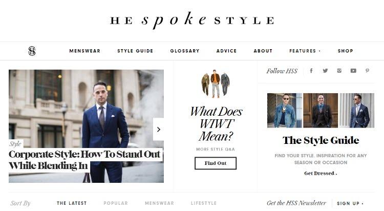 mejores blogs moda belleza masculina tendencias hombre he spokes style brian sacawa