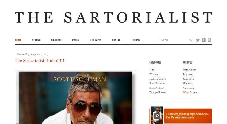 mejores blogs moda belleza masculina tendencias hombre sartorialist scott schuman