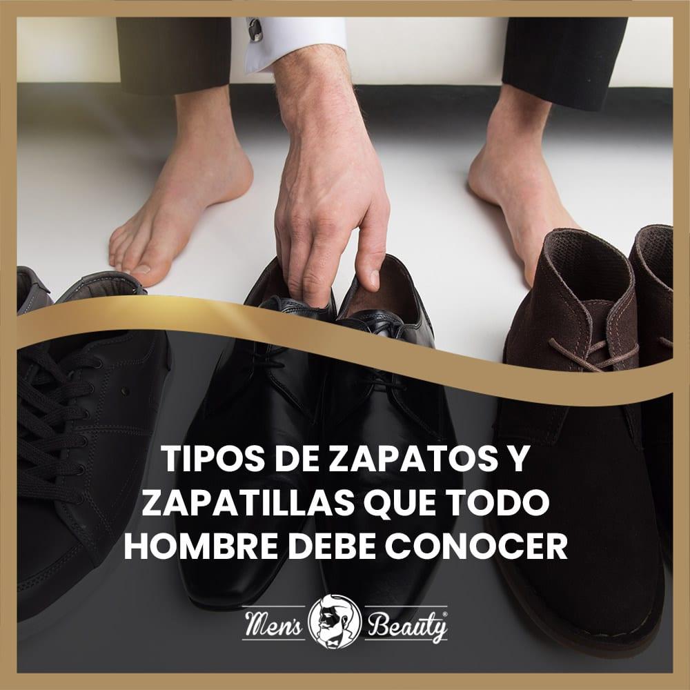 tipos zapatos zapatillas hombre calzado masculino