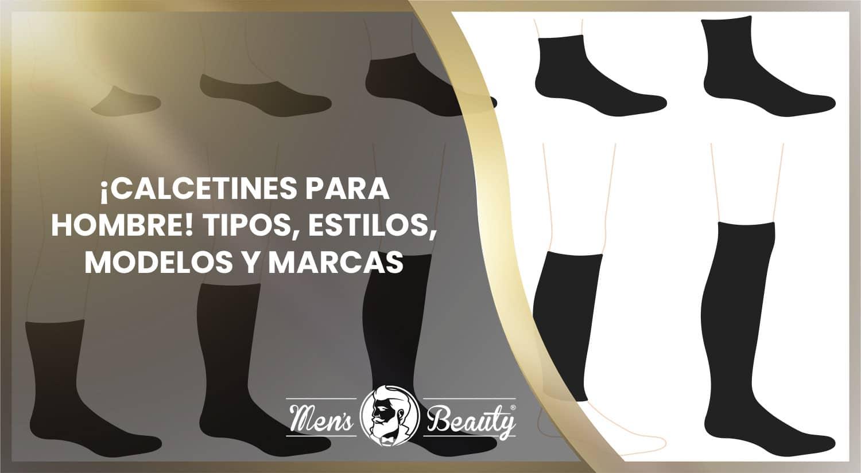 calcetines hombre tipos cortos largos modelos masculinos marcas