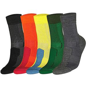 tipos calcetines hombre de lana merino acolchados danish endurance
