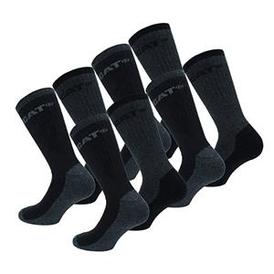 tipos calcetines hombre de trabajo trama reforzada catperpillar