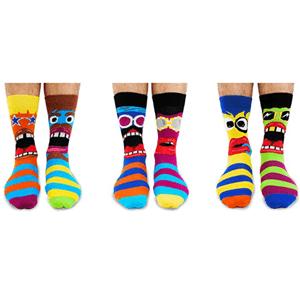 tipos calcetines hombre desparejados multicolor united oddsoks
