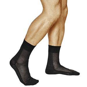 tipos calcetines hombre media de seda antibacterianos vitsocks
