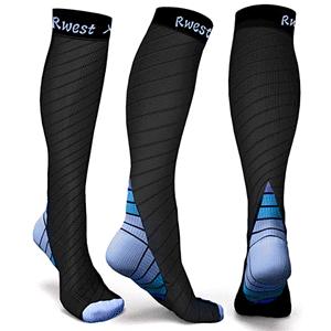 tipos calcetines hombre media de seda compresora rwest
