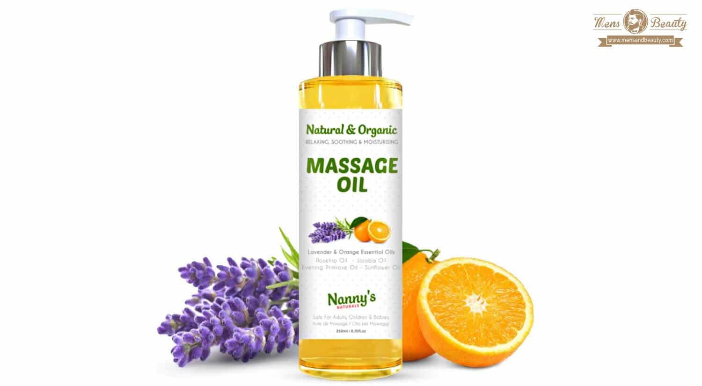 mejores aceites masaje corporal erotico lubricantes intimos nannys natural organic naranja lavanda aceite