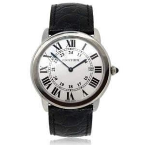 mejores marcas modelos relojes hombre masculino premium cartier ronde solo
