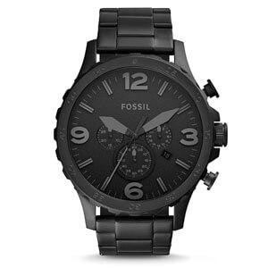 mejores marcas modelos relojes hombre masculino premium fossil blackstainless steel