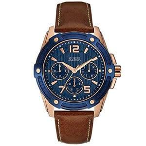 mejores marcas modelos relojes hombre masculino premium guess reloj analogico piel