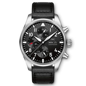 mejores marcas modelos relojes hombre masculino premium iwc shaffhausen pilot