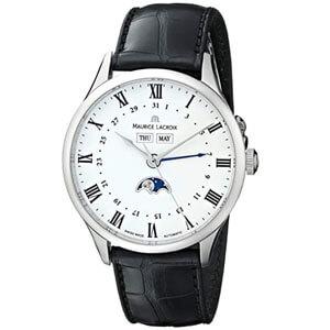 mejores marcas modelos relojes hombre masculino premium maurice lacroix masterpiece phase de lune