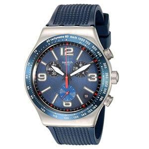 mejores marcas modelos relojes hombre masculino premium swatch blue grid