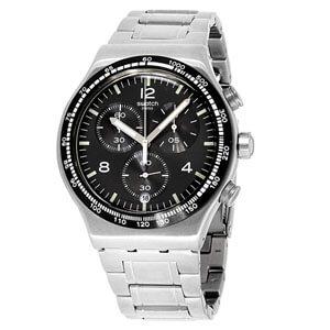 mejores marcas modelos relojes hombre masculino premium swatch deep gray