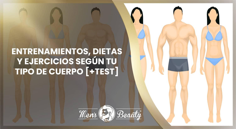 tipos cuerpo somatico hombre mujer entrenamientos ejercicios dietas test