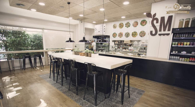 mejores restaurantes comida sana saludable healthy barcelona salad market