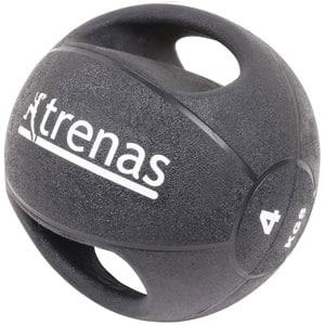 rutina de entrenamiento en casa tonificar accesorios fitness balon medicinal