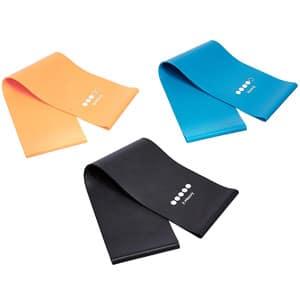 rutina de entrenamiento en casa tonificar accesorios fitness bandas elasticas resistencia