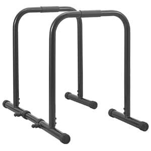 rutina de entrenamiento en casa tonificar accesorios fitness paralelas calistenia