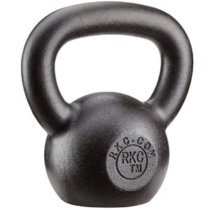 rutina de entrenamiento en casa tonificar accesorios pesa rusa ketlebell