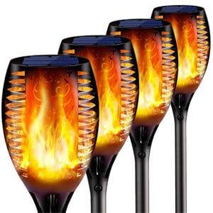 mejores productos mas vendidos amazon regalos accesorios iluminacion swonuk luces solares aire libre